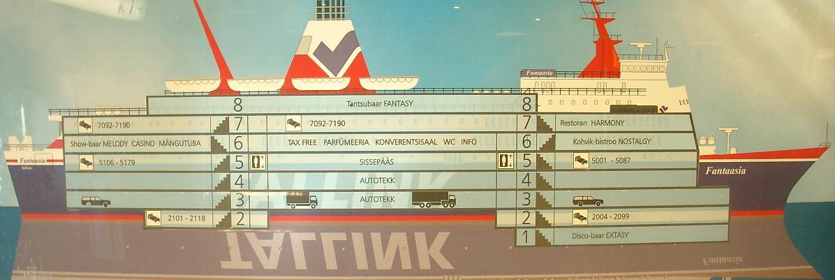 E&S: Паром Фантазия, компания Таллинк. Схема расположения ...: http://eands.narod.ru/fantaasia_v_razreze.html